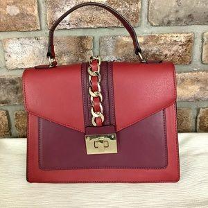 APT. 9 Lexi Chain-Link Convertible Satchel Handbag
